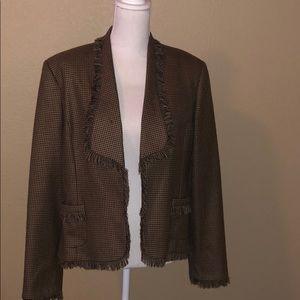 Brooksfield Donna NWOT Blazer 💯 wool impeccable